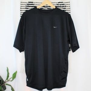Nike Dri Fit Men's Black Athletic T-Shirt 017